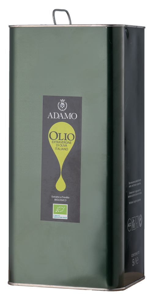 Olio Extra Vergine di Oliva Adamo Bio 5 Liter Kanister