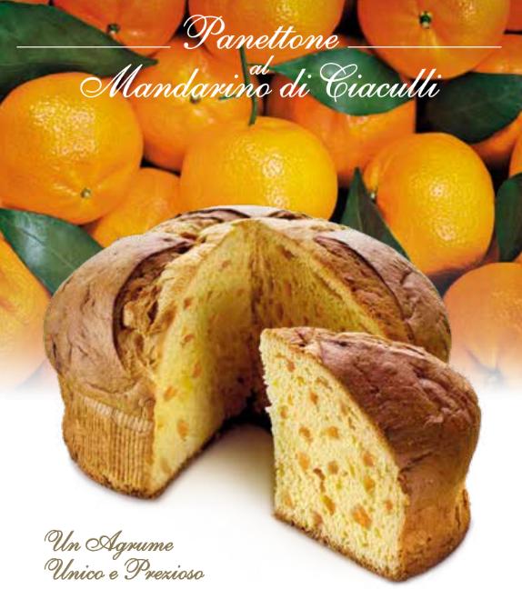 Panettone al Mandarino Flamigni 1kg