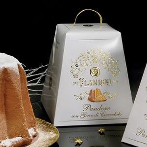 Pandoro Classico con Gocce di Cioccolato Flamigni 1kg