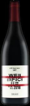 Wein einfach fein rot von Salis AOC Graubünden