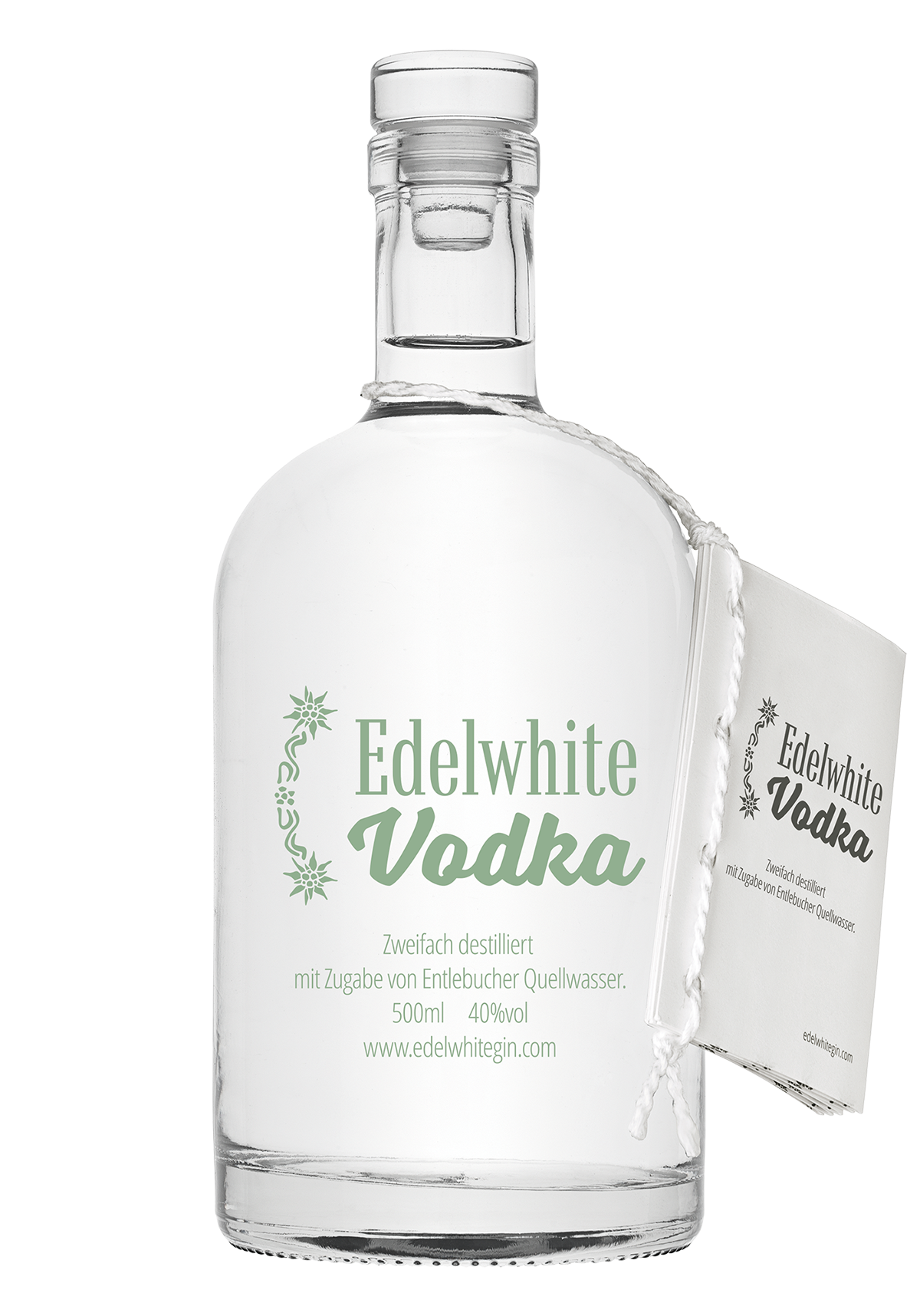 Vodka Edelwhite 40% 500ml