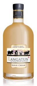 Langatun Gold Cream Single Malt Cream Likör Liqueur 18% 50cl
