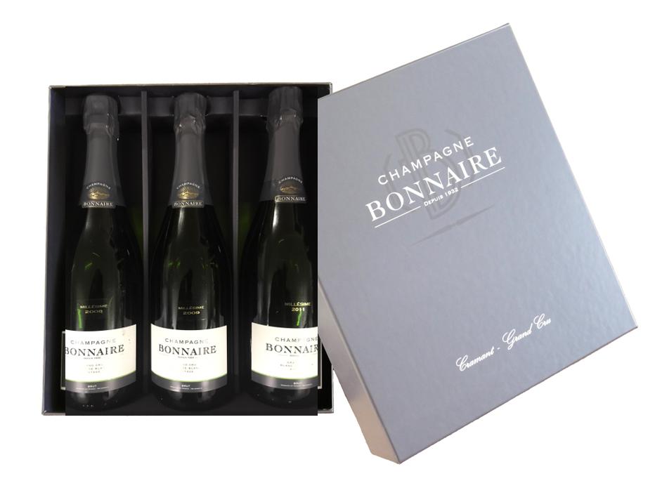 Champagne Bonnaire Trilogie Vintages