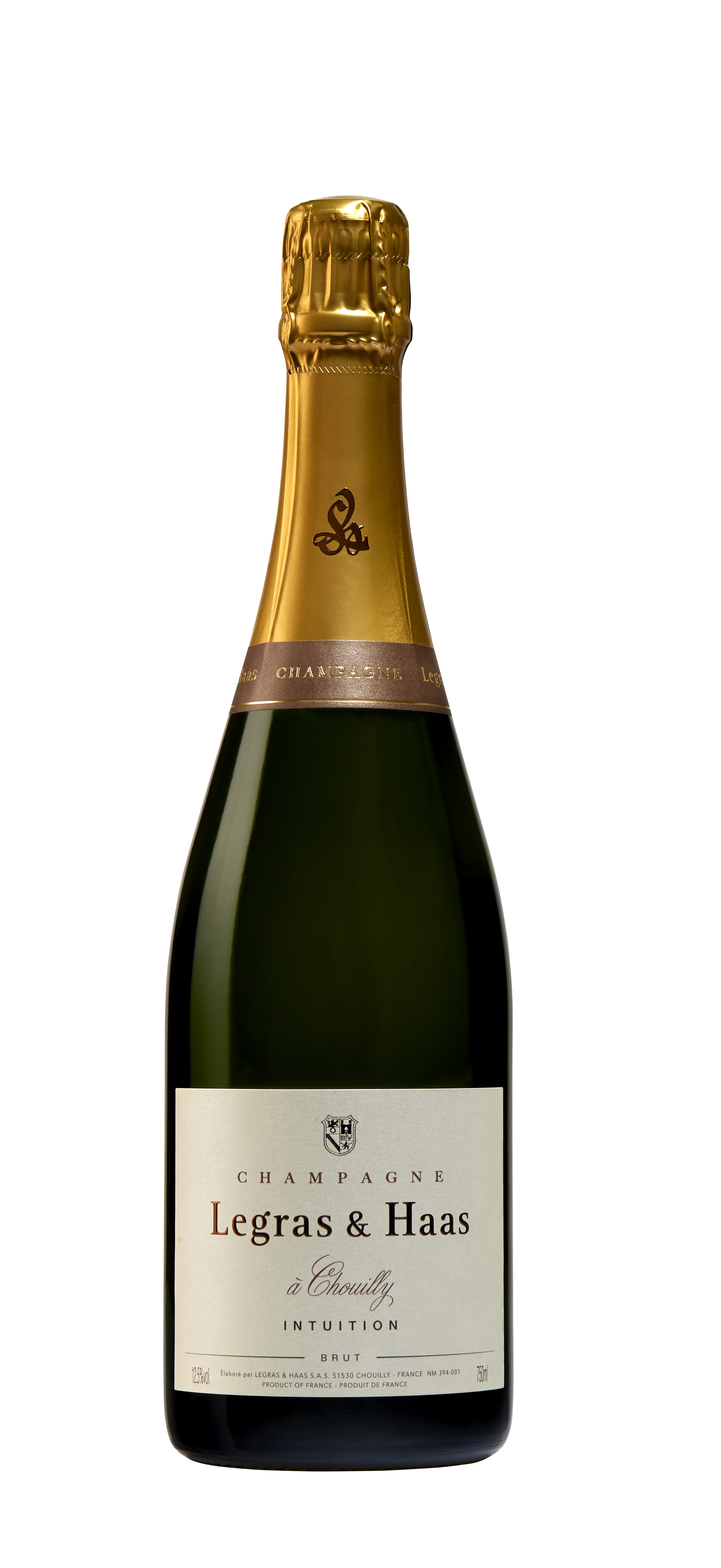 Legras & Haas Intuition Brut (1/2 bottle)