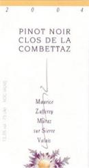 Pinot Noir Clos Combettaz