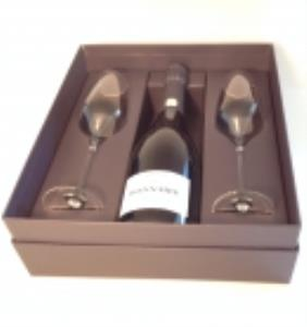 Gift set Cuvée PRESTIGE with 2 champagne glasses