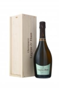Legras & Haas Cuvée Exigence N°9 Brut in wooden box
