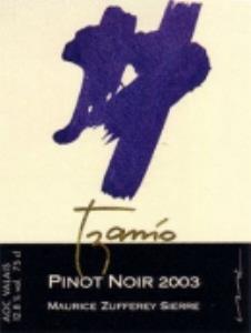 Pinot Noir «Tzanio» barrique
