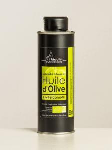 Olivenöl - Huile de Olive Bergamotte bio
