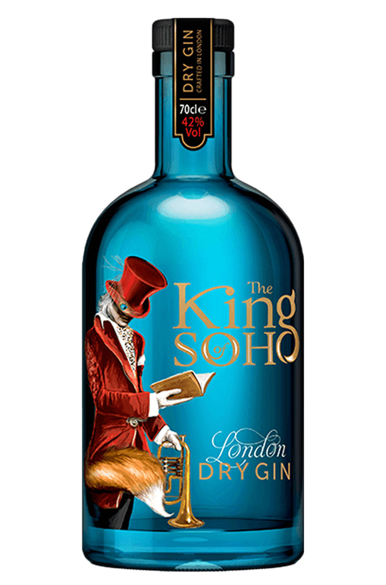 King of Soho London Dry Gin 42% vol.