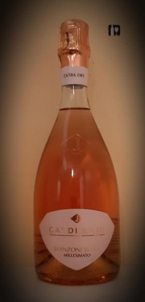 Manzoni Rosa - Millesimato Extra Dry - Rosé
