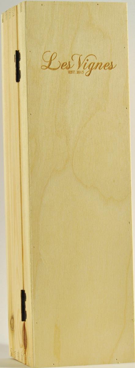 Holzbox für eine Flasche