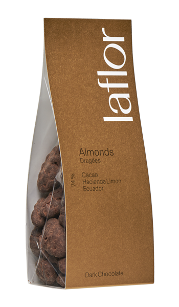 Dragées Almonds Ecuador Hazienda Limon 74%