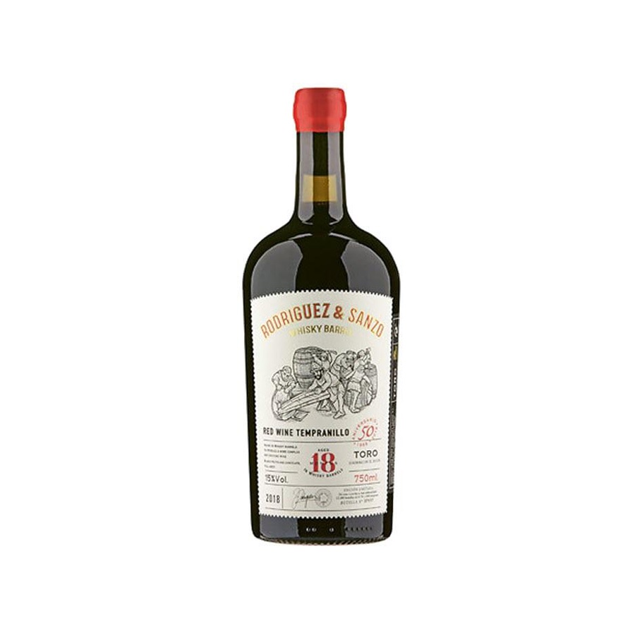 Tempranillo Toro DO 18 months in Whisky barrels